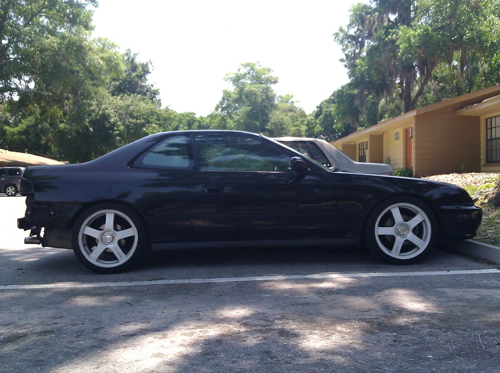F5 Black with RH white C5's - Honda Prelude Forum