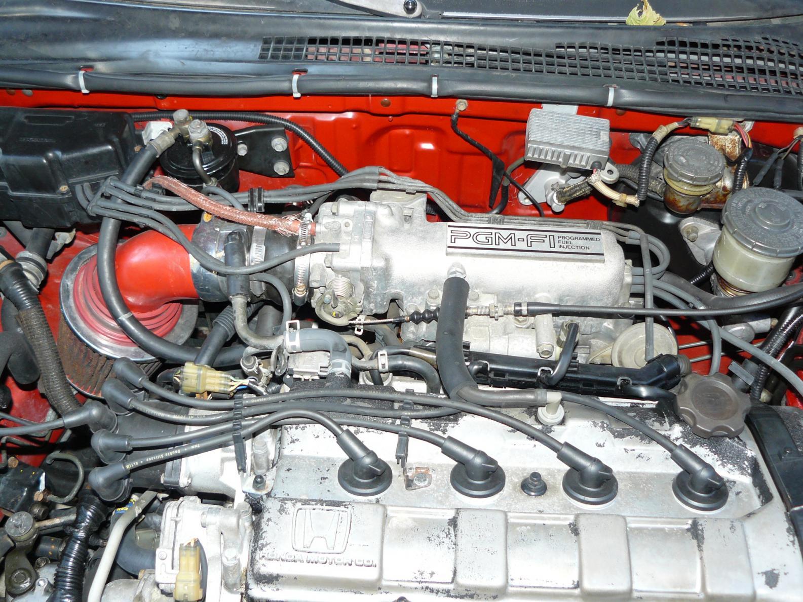 1991 Honda Prelude Si 4ws prelude with 88 motor transplant, random start problem - Honda Prelude ...