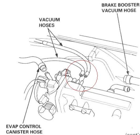 2000 honda prelude engine diagram vacuum