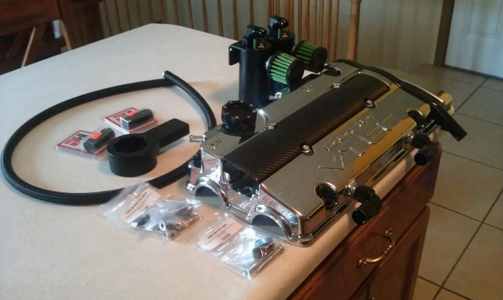 Vented valve cover / catch can setup   - Honda Prelude Forum